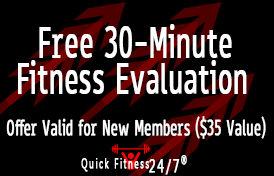 Free 30-Minute Fitness Evaluation - Offer Valid for New Members ($35 Value)